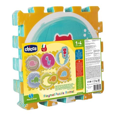 tappeto puzzle chicco move n grow tappeto puzzle animali chicco acquista