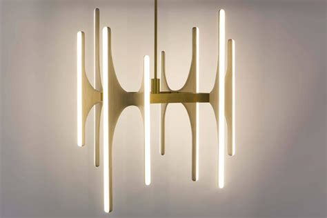 Chandeliers Usa Markus Haase Bleached Ash And Onyx Chandelier Usa 2016 For Sale At 1stdibs