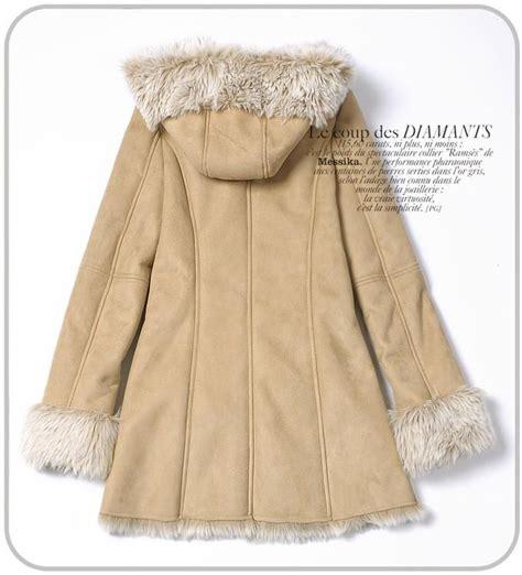 Jaket Wanita Hodies Bulu Bulu Jaket Parka Outdoor Musim Dingin Grs f309529 baju musim dingin warm suede wool coat coat korea