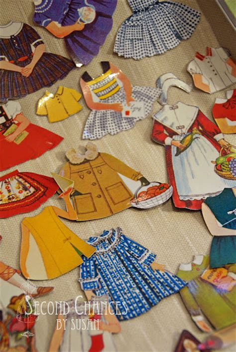 How To Make Magnetic Paper Dolls - second chances by susan magnetic quot paper quot dolls