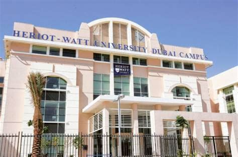 Heriot Watt Dubai Mba Ranking by Heriot Watt Dubai Universities In Dubai
