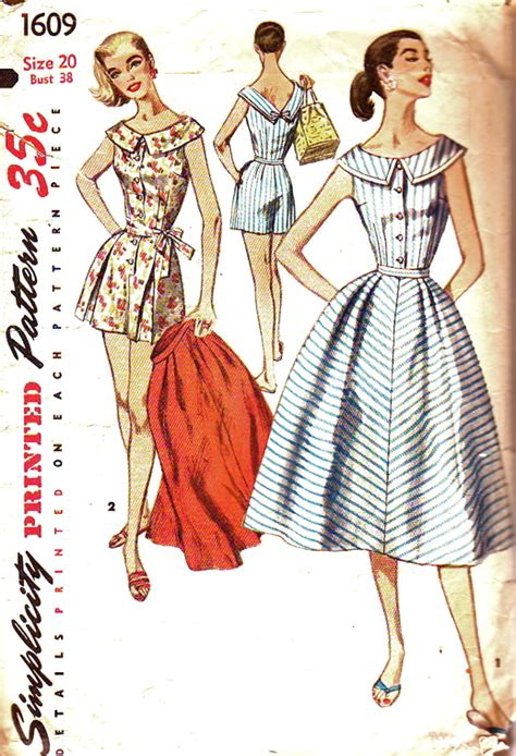 simplicity pattern history simplicity 1609 vintage sewing patterns fandom powered