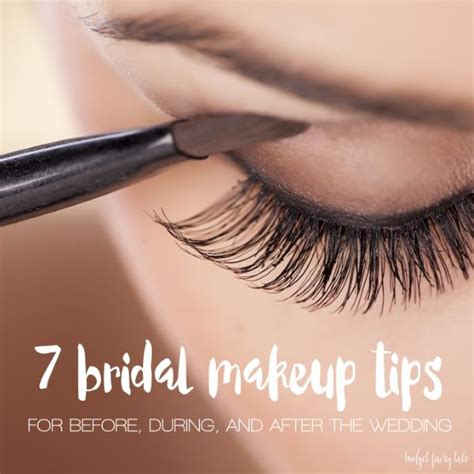 7 Makeup Tips For Your Wedding Day by 7 Bridal Makeup Tips From A Disneyland This