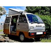 1989 Suzuki Super Carry Pop Top Roof Campervan / Wohnmobil