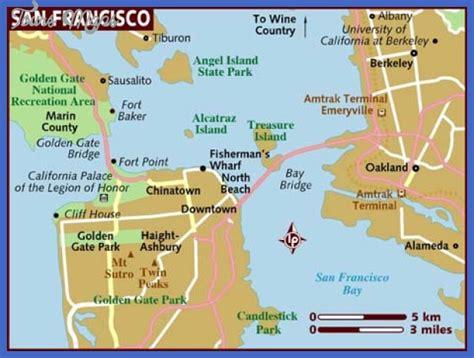 san francisco gallery map san francisco oakland map toursmaps