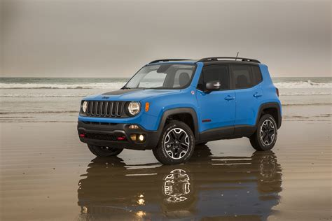 jeep renegade trailhawk blue 2015 jeep renegade first drive motor trend