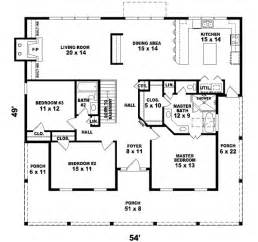 1800 Square Foot Floor Plans by Southern Style House Plans 1800 Square Foot Home 1