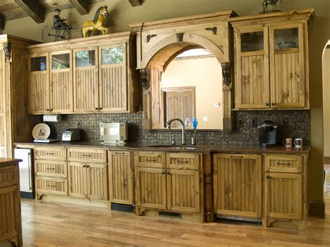 Diy Rustic Kitchen Cabinets Knotty Pine Cabinets Diy Exclusive Gallery With Rustic Kitchen Pictures Cleaning Trooque
