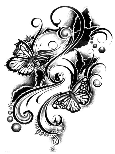 family tattoos designs girl tribal designs tribal butterfly meaning