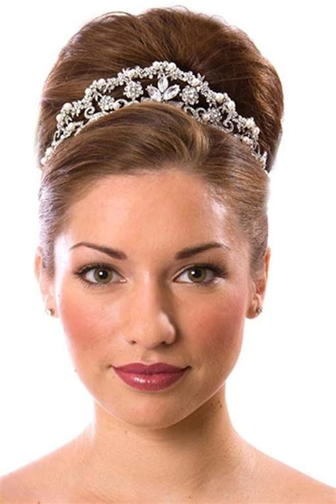 full crown hairstyles full crown hairstyles bride hairstyles with crown