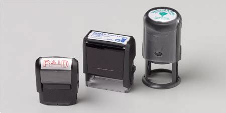 custom made rubber sts self inking and pre inked sts custom self inking sts rectangular round vistaprint