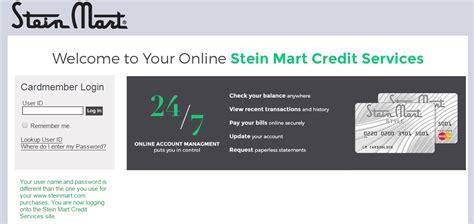 Stein Mart Gift Card - stein mart credit card payment infocard co