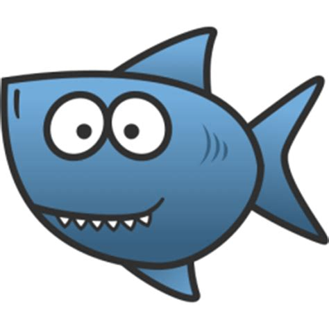 baby shark cartoon free cartoon shark clip art