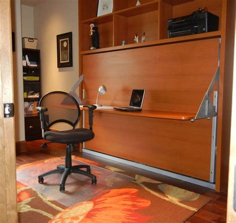 Murphy Bed Office Desk 17 Best Images About Diy Murphy Bed Desk On Murphy Desk And Murphy Bed With Desk