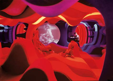 psychedelic environments  retrospective journey  verner pantons aesthetic