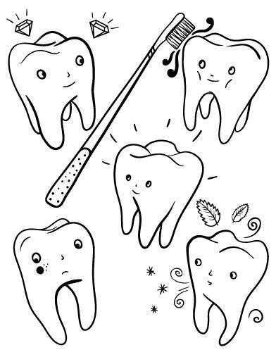 tooth coloring pages pin by muse printables on coloring pages at coloringcafe