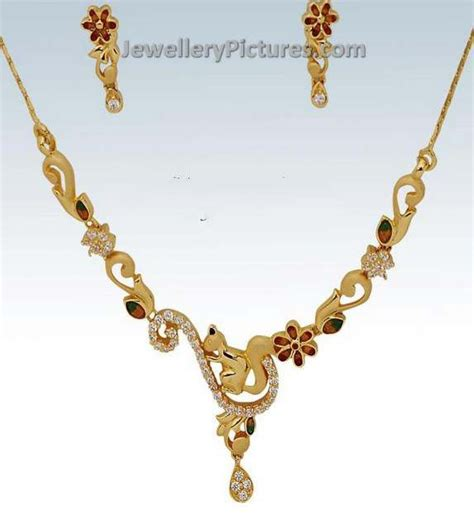 baby gold necklace designs jewellery designs