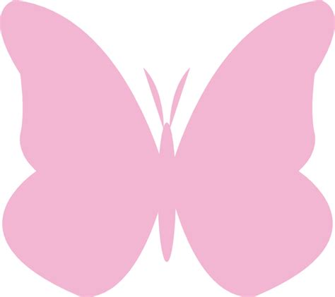 pink butterfly light pink butterfly clip at clker com vector clip