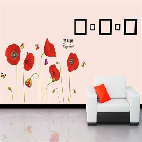 poppy home decor compare prices on wall art poppies online shopping buy