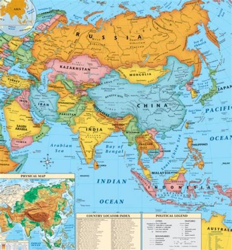 asia map countries and capitals map of asia countries and capitals pictures 4 nanopics