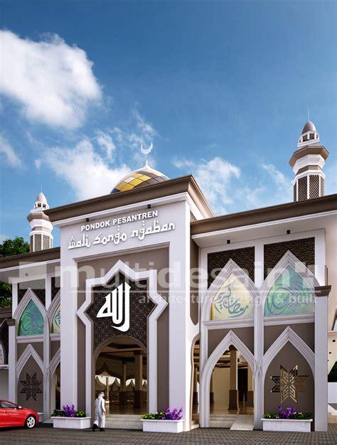 desain jendela masjid pesantren ponorogo multidesain arsitek