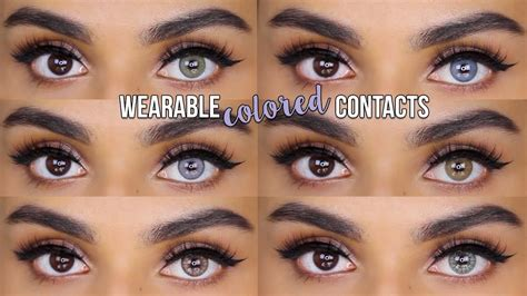 colored for realistic colored contact lenses for desio