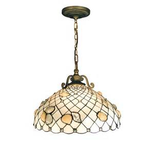 Shell Pendant Light Dale Th50007 3 Light Shell Large Pendant Antique Brass At Atg Stores