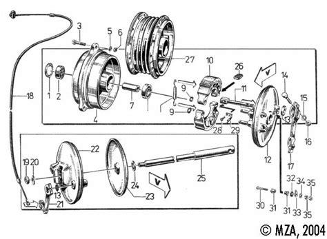 Motorrad Gabel Richtig Einbauen by Bremslichtschalter Vorn Vorderrad Einbauen Diverse