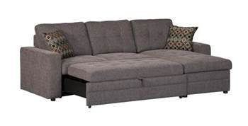 Furniture Sectional Sleeper Coaster Company Gus Grey Small Sleeper Sectional Sofa