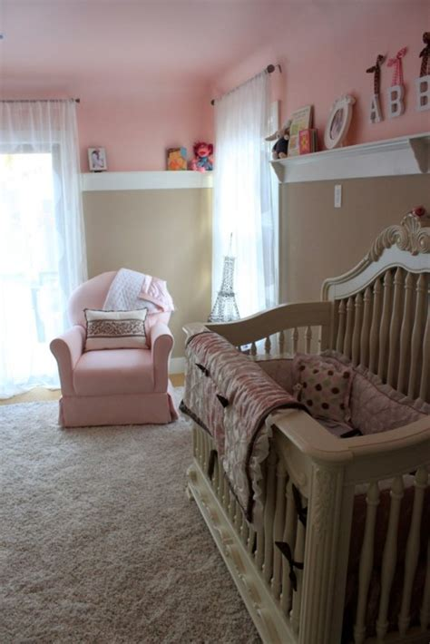 pink and brown nursery vote february room finalists
