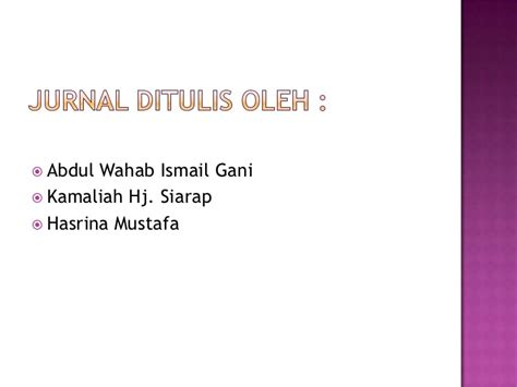 membuat analisis jurnal analisis jurnal