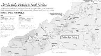 map the blue ridge parkway