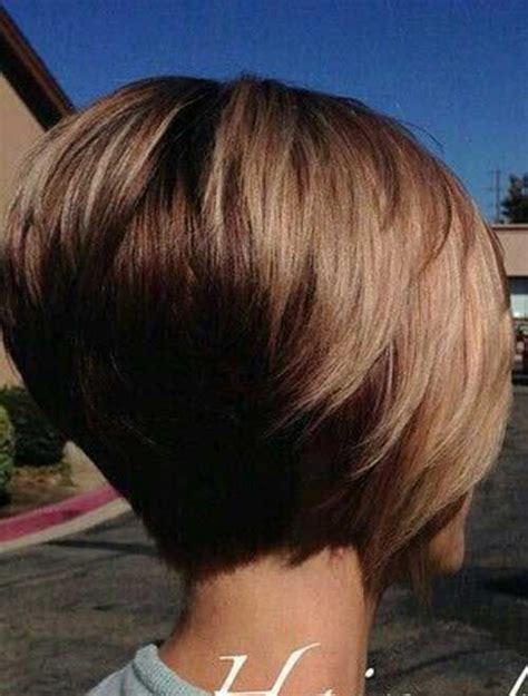 high stacked layer bob really trending short stacked bob ideas http www short