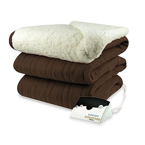 comfort knit heated blanket buy biddeford blankets 174 comfort knit heated blanket with