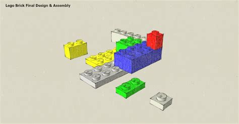 sketchup layout remove background saturday s sketchup first steps a lego brick