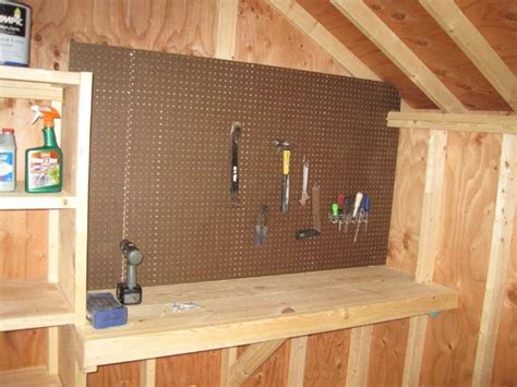 shed bench small shed workbench google search house landscape