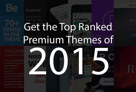 themes wordpress premium 2015 get the top ranked premium themes of 2015 almanydesigns