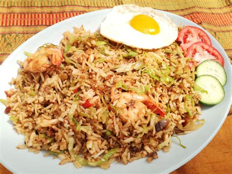 indonesian fried rice nasi goreng asian inspirations