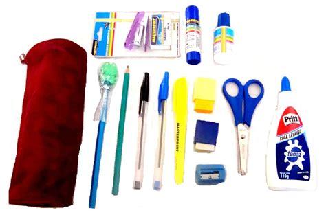 imagenes de kit escolares kit de material escolar masterprint 18 itens r 27 90
