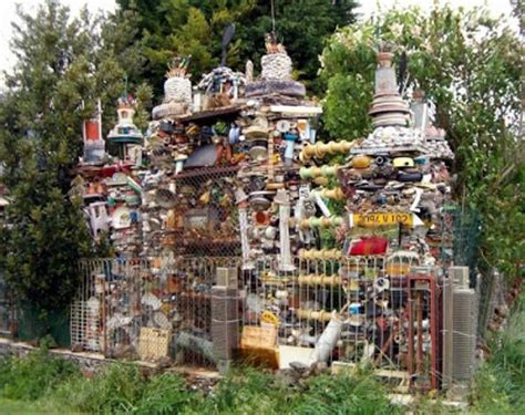 Trash House | house made from trash damn cool pictures