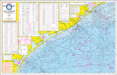 gulf of mexico offshore fishing map with loran and gps