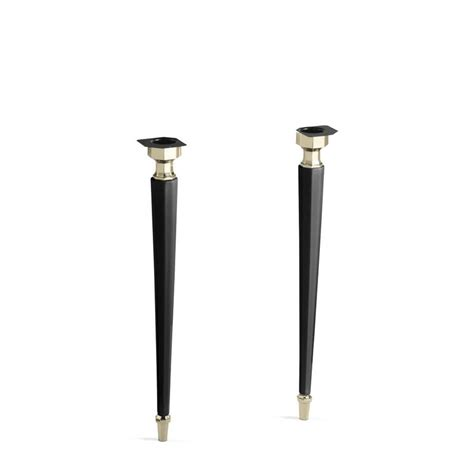 Coffee Table Legs Lowes Shop Kohler Metal Coffee Table Leg Actual 3 2187 In X 31 75 In At Lowes