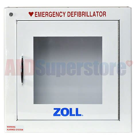 ZOLL® AED Plus® OEM Surface Mount Cabinet w/Alarm   AED