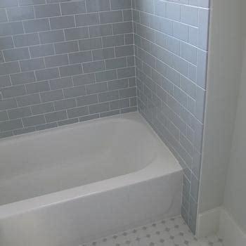 tile tub surround gray tile around bathtub grey tile gray subway tile bathroom design ideas