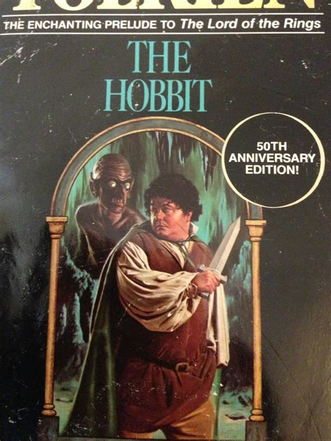 the hobbit book pictures the book cover of quot the hobbit quot from the 80s is hilarious