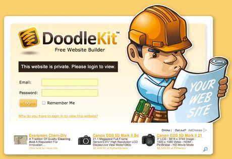 doodle kit sign in free plan website changes doodlekit