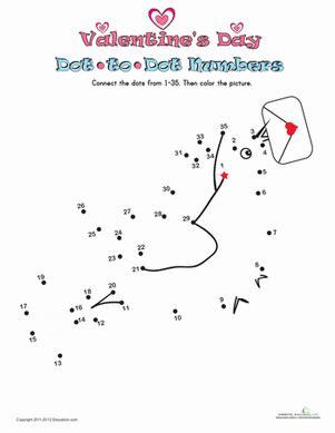 s day dot to dot 1 worksheet education