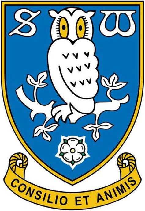 Home Decor Sheffield by Sheffield Wednesday Swfc Latest Club Badge Wall Sticker