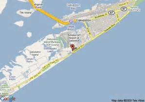 galveston on map map galveston pictures to pin on