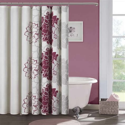 pink and brown shower curtains pink and brown bathroom